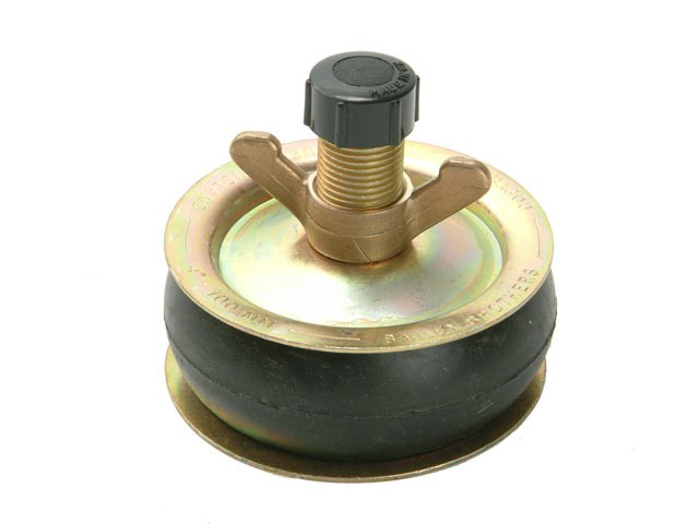 1963 Drain Test Plug 3in - Plastic Cap