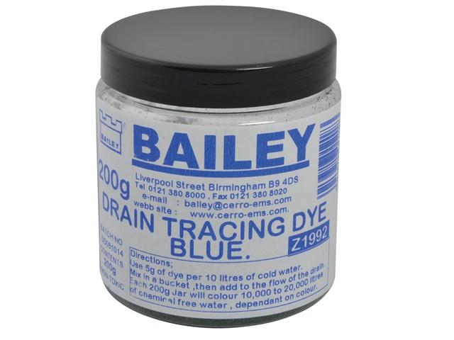 1992 Drain Tracing Dye - Blue