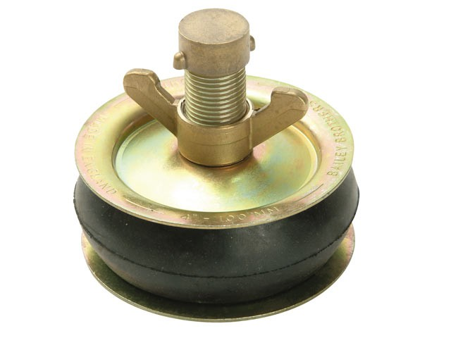2567 Drain Test Plug 300mm (12in) - Brass Cap