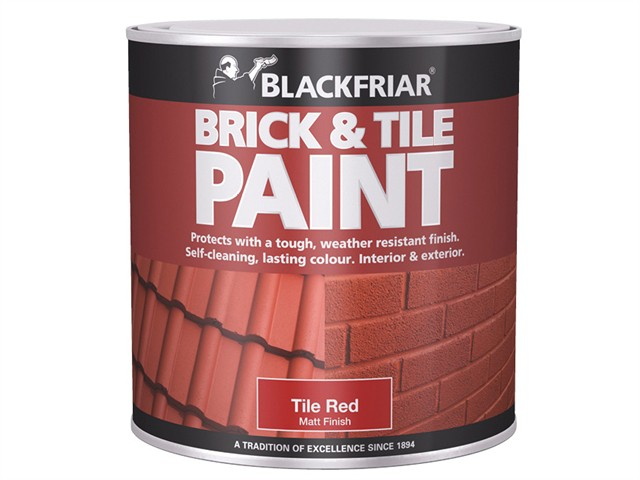 Brick & Tile Paint Matt Red 250ml