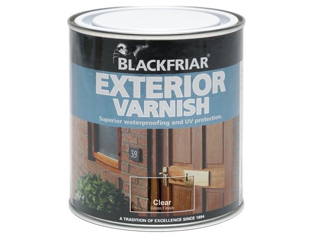 Exterior Varnish UV77 Clear Satin 250ml