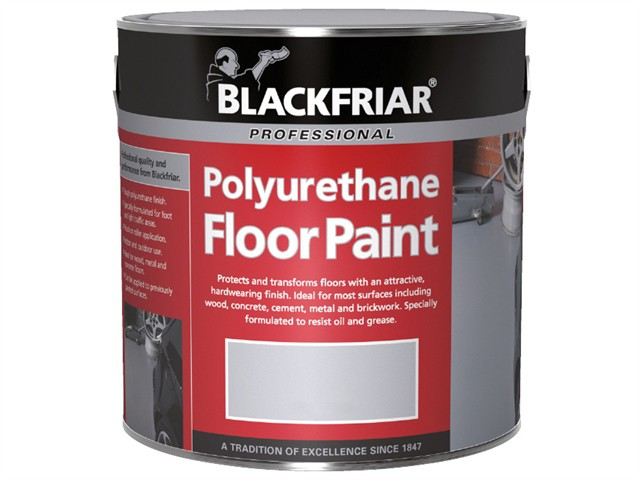 Professional Polyurethane Floor Paint Tile Red 250ml