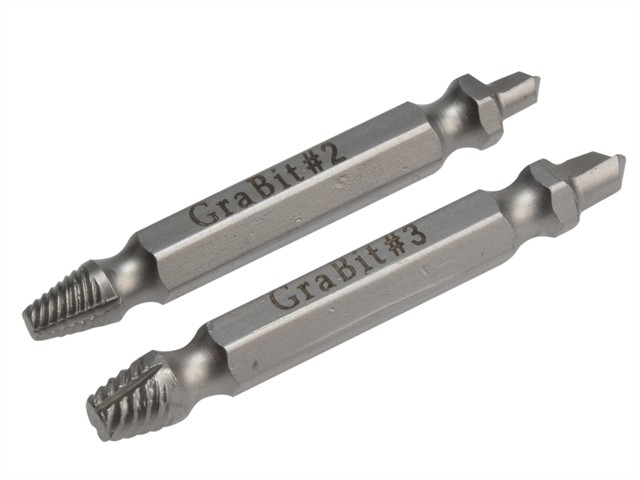 Grabit Screw & Bolt Remover 2 Piece Set