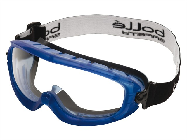 Atom Safety Goggles Clear - Ventilated Foam Seal