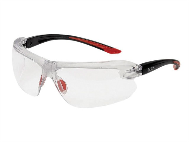 IRI-S Safety Glasses - Clear Bifocal Reading Area +2.5