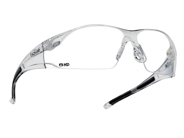 RUSH Safety Glasses - Clear HD