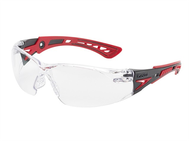 Rush+ Platinum Safety Glasses Clear