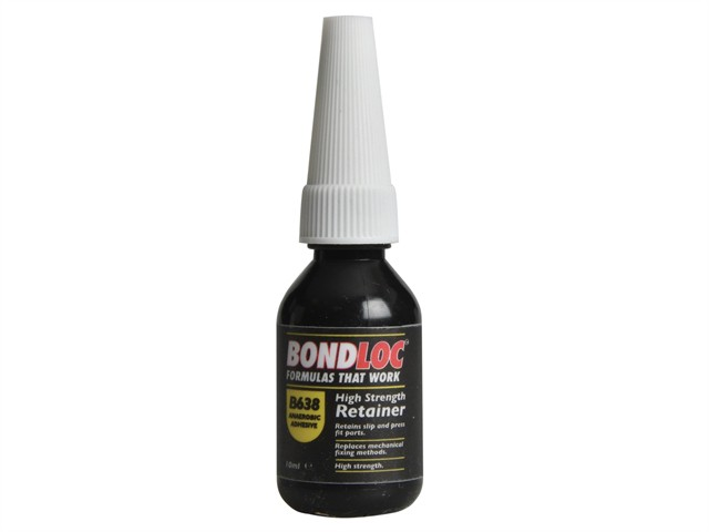 B638 High Strength Retaining Compound 10ml