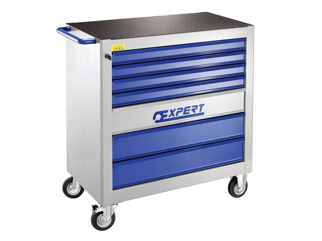 E010105B 7 Drawer XL 3 Modules Roller Cabinet