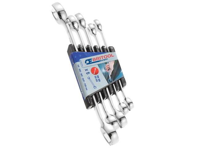 Flare Nut Wrench Set of 5 7x9 8x10 11x13 12x14 & 17x19mm