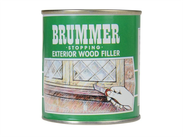Green Label Stopping Exterior Wood Filler 700g White