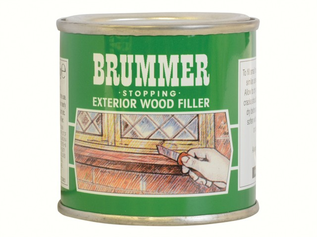 Green Label Stopping Exterior Wood Filler 225g Natural Oak