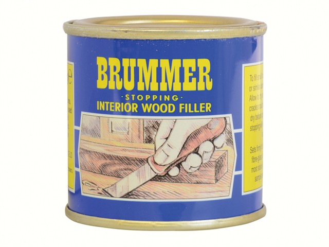 Yellow Label Stopping Interior Wood Filler 225g Medium Mahogany