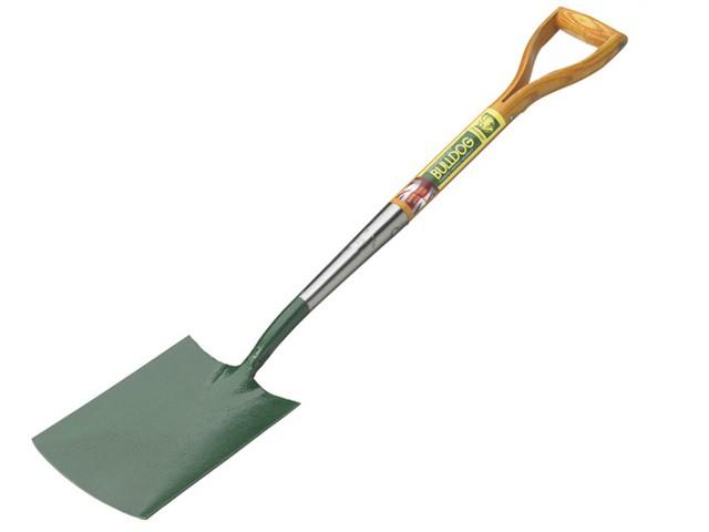 Premier Wooden Handle Garden Spade