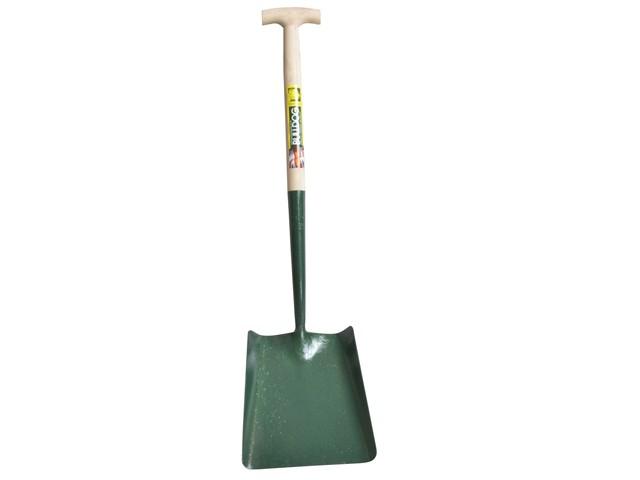 Solid Socket Square Shovel T-Handle