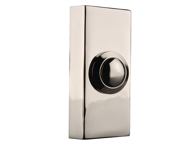 2204BC Wired Bell Push Chrome