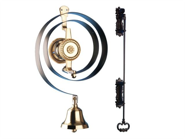 62500K Mechanical Butlers Doorbell with Iron Pull Kit