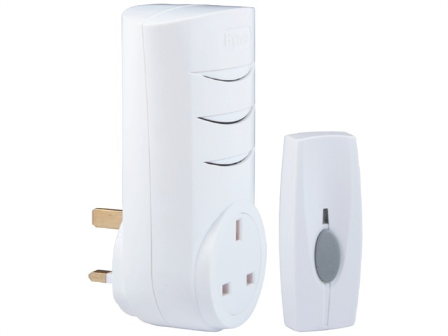 BY103 Wireless Plug-Through Chime Kit 60m