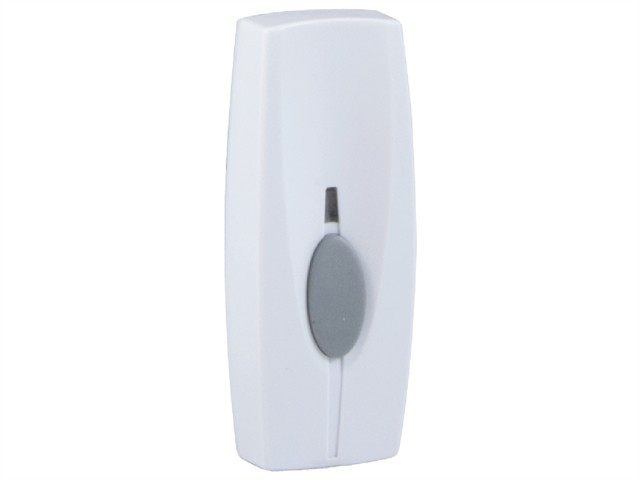 BY30 Wireless Doorbell Additional Chime Bell Push White