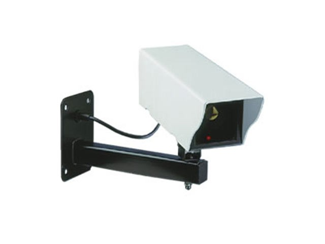 CS11D Dummy Camera Wall-Mounted + LED Light