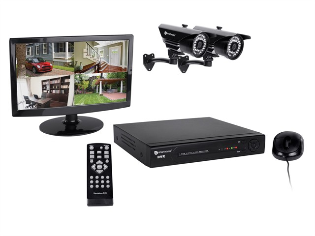 DVR724S 4 Channel HD CCTV System
