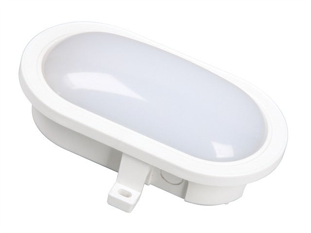 GOL-001-HW LED Oval Bulkhead White 5.5 Watt 550 Lumen