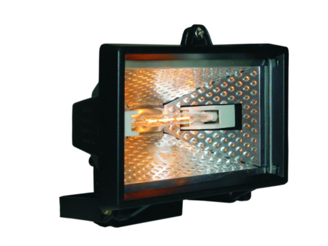 HL120 Halogen Floodlight Black 120 Watt