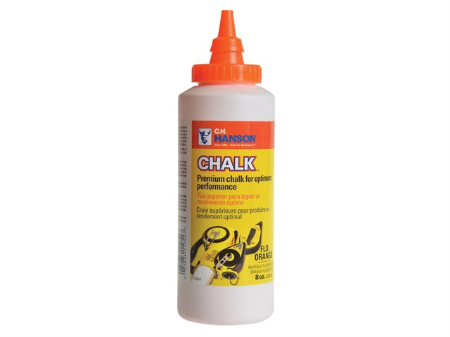 Chalk Refill 227g (8oz) Fluorescent Orange