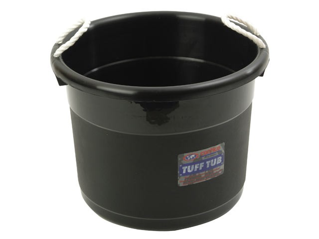 Tuff Tub - Black 69 Litre
