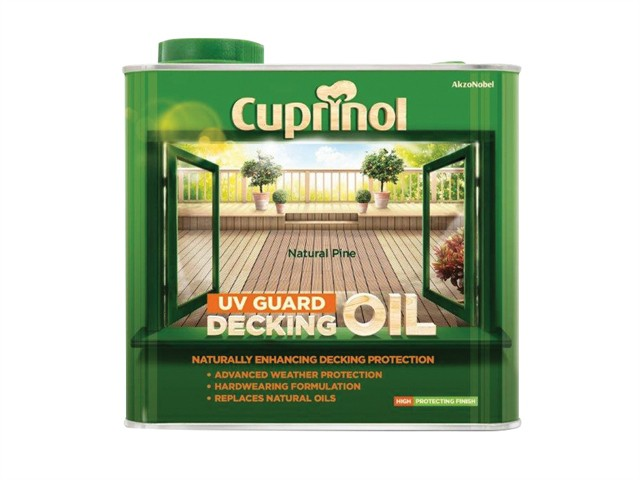 UV Guard Decking Oil Natural Pine 2.5 Litre