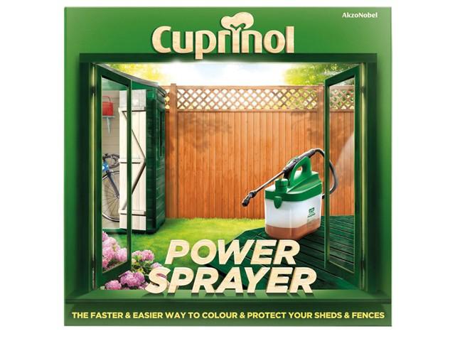 Power Sprayer - Fence & Decking