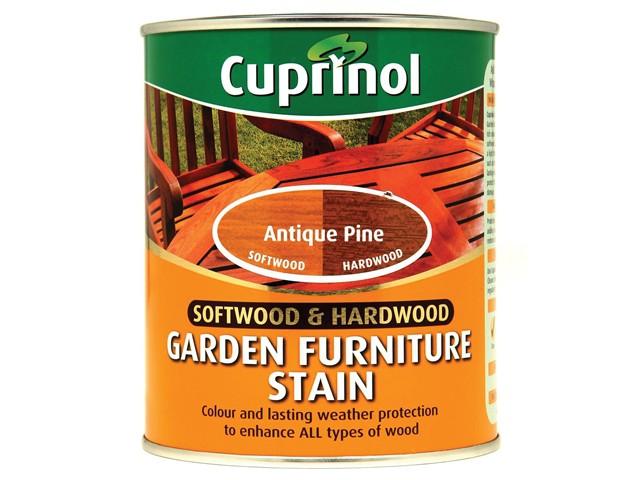 Softwood & Hardwood Garden Furniture Stain Antique Pine 750ml