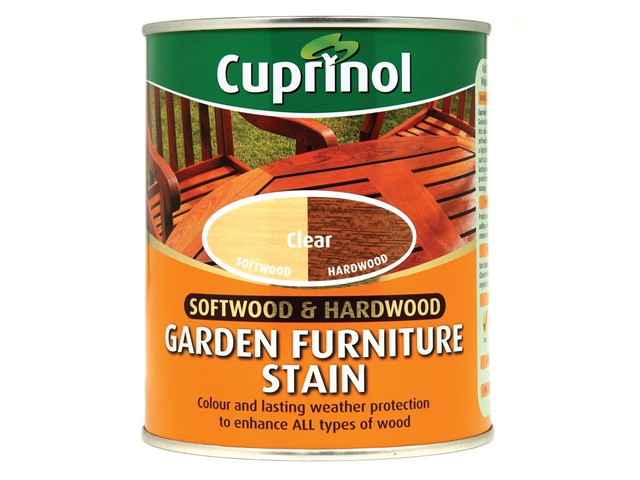 Softwood & Hardwood Garden Furniture Stain Clear 750ml