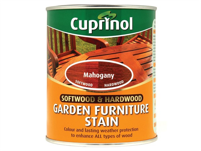 Softwood & Hardwood Garden Furniture Stain Mahogany 750ml