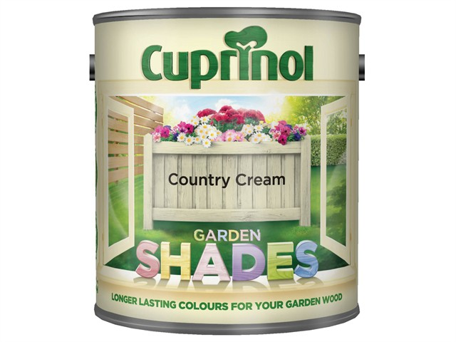 Garden Shades Country Cream 2.5 Litre