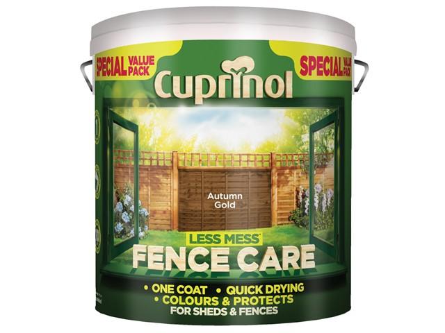 Less Mess Fence Care Autumn Gold 6 Litre