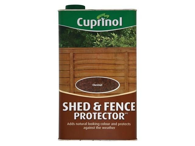 Shed & Fence Protector Chestnut 5 Litre