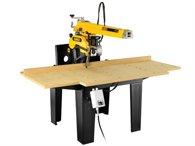 DW729KN 350mm Radial 3 Phase Arm Saw 4000 Watt 240 Volt