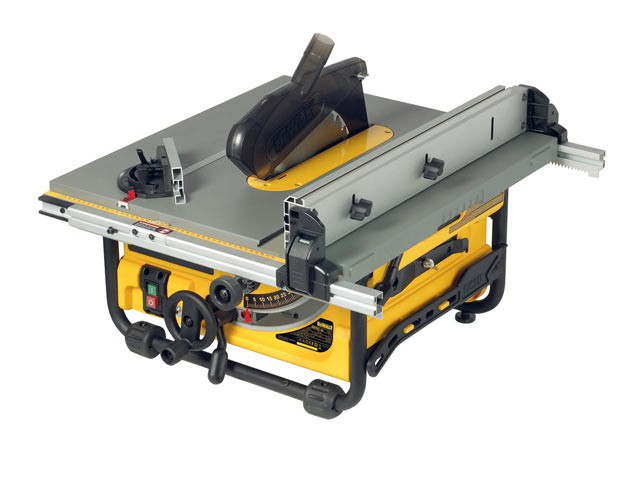 DW745 250mm Portable Site Saw 1700 Watt 110 Volt