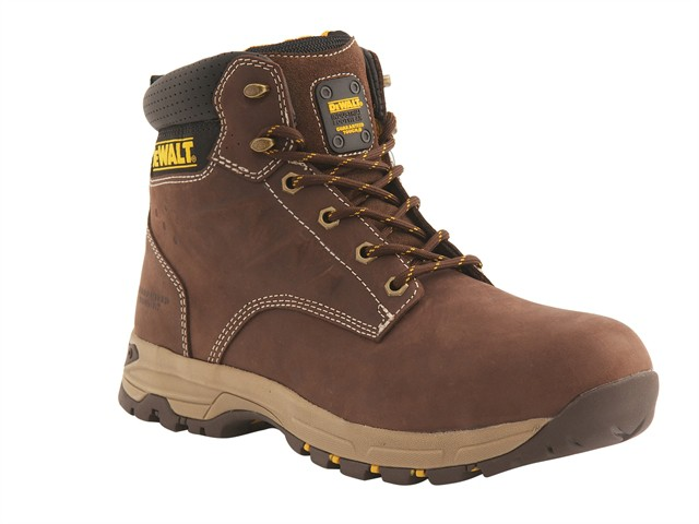 SBP Carbon Nubuck Safety Hiker Brown Boots UK 6 Euro 39/40
