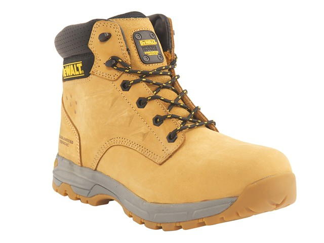 SBP Carbon Nubuck Safety Hiker Wheat Boots UK 12 Euro 47