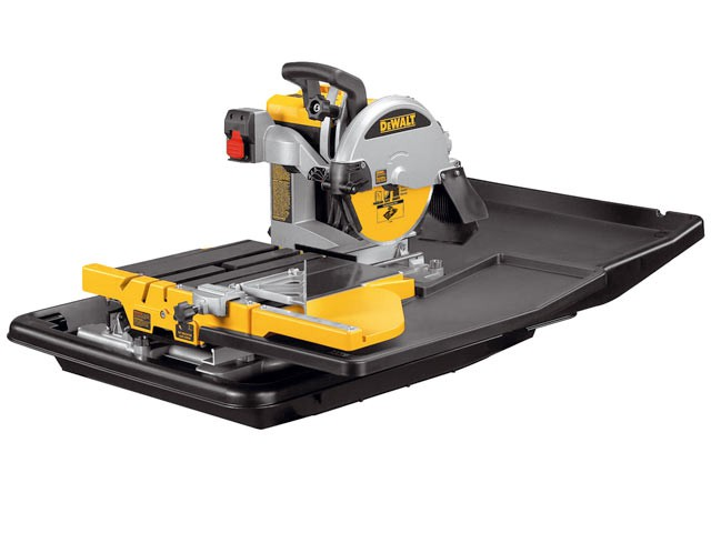 D24000 Wet Tile Saw with Slide Table 1600 Watt 110 Volt