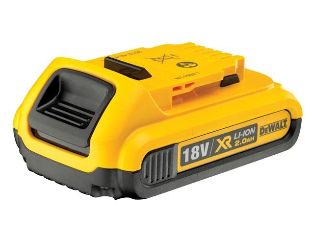 DCB183 XR Slide Battery Pack 18V 2.0Ah Li-Ion