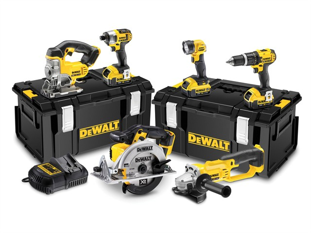 DCK691M3 Cordless 2 Speed 6 Piece Kit 18V 3 x 4.0Ah Li-ion