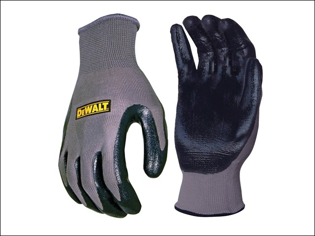 DPG66L Nitrile Nylon Gloves - Large