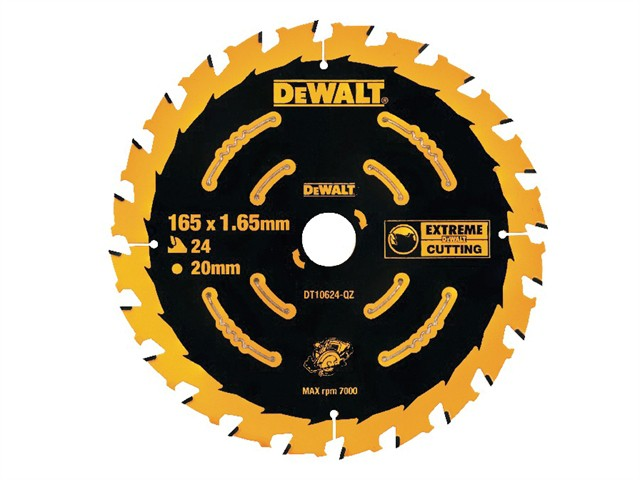 Cordless Extreme Framing Circular Saw Blade 165 x 20mm x 24T