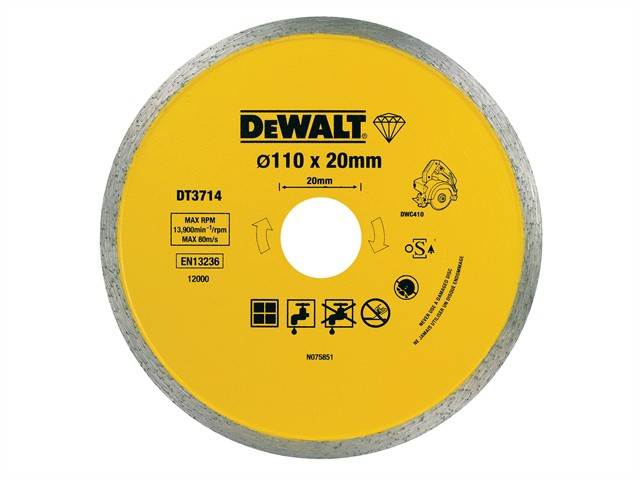 Diamond Tile Blade 110 x 20mm