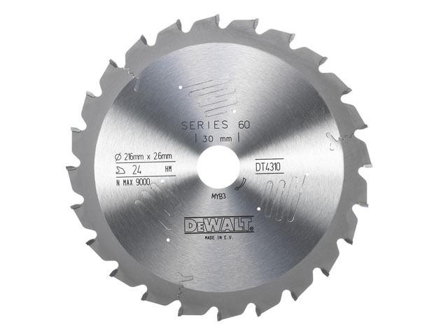 Circular Saw Blade 216 x 30mm x 24T Series 60 Fast Rip