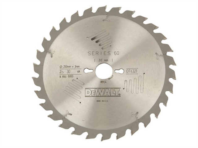 Circular Saw Blade 250 x 30mm x 40T Series 60 General-Purpose