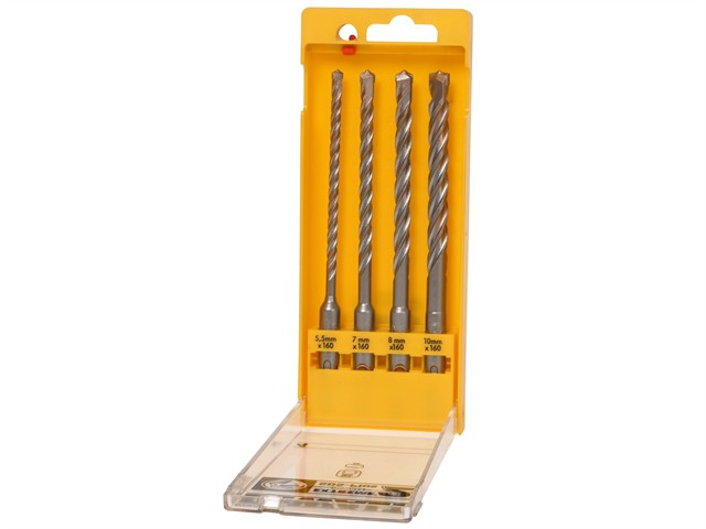 Extreme 2 SDS Plus Drill Bit Set 4 Piece 5.5-10mm